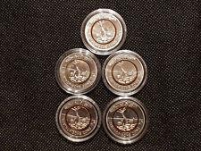5 Euro Münze Subtropische Zone 2018 Komplettsatz A D F G J