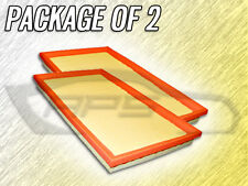 AIR FILTER AF5379 FOR 1999 2000 2001 2002 MERCEDES BENZ CLK430 PACKAGE OF TWO