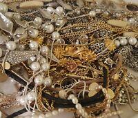 💥ESTATE VINTAGE MODERN JEWELRY LOT NECKLACES EARRINGS RINGS READY TO WEAR 5 pc