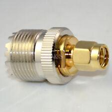 PL259 SO239 UHF Female Jack Socket To SMA Type Male Plug Adaptor Convertor UK