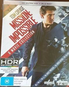 Mission: Impossible 6 Movie Collection [6 4K UHD + 6 Blu-ray ,12 Disc Box Set]