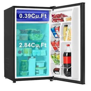 Mini Fridge Freezer Small Refrigerator 3.3 Cu Ft Compact Frozen Food Storage NEW
