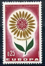 STAMP / TIMBRE FRANCE NEUF LUXE ** N° 1430 ** EUROPA 1964 FLEUR