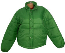 United Colors Of Benetton Men's Puffer Jacket Zipper Snap Front Italy Sz S