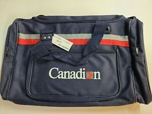 CANADIAN AIRLINES - DUFFLE BAY. SIZE 19 X 11 X 10 INCHES.