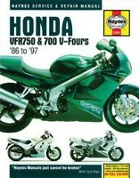 Haynes Honda VFR750 & 700 V-Fours '86 to '97 Service and Repair Manual, Paper...
