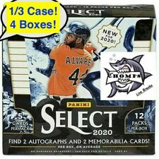 ATLANTA BRAVES - 2020 Panini Select Baseball 1/3 Case Break #1 - 16 HITS!