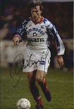 David GINOLA SIGNED COA Autograph 12x8 Photo AFTAL PARIS Saint - Germain RARE