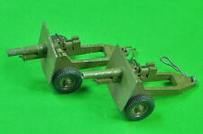 Vintage British English Set of 2 Toy Miniature Cannon