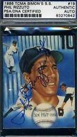 Phil Rizzuto 1986 Tcma Signed Psa/dna Autograph Authentic