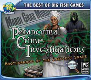 Paranormal Crime Investigations  A Hidden Object Adventure  NEW   Vista 7 8 10