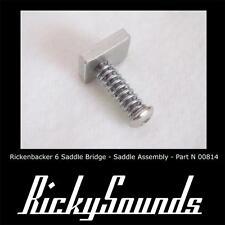Rickenbacker silla de montar seis guitarra Cejuela del puente Sólo una parte