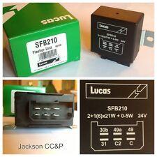 Lucas sfb210 Destellador Unidad Para Camiones Mercedes 15445732, Volvo 117886, 4787201