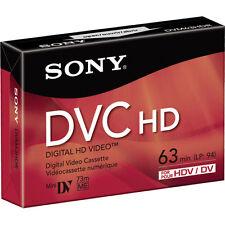 1 Sony DVM-63HDR mini DV tape for TRV25 TRV22 TRV20 TRV19 TRV18 TRV17 camcorder