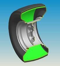 (2)13X6.50-6 Tubeless Smooth Tread FlatProof Tires 13x650-6 TyreLiner Sealing!