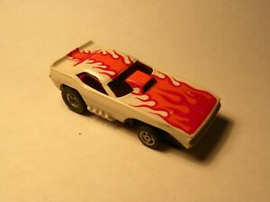 VINTAGE AURORA/AFX PLYMOUTH CUDA FUNNY CAR Slot Car with Running Chassis
