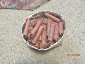 Vintage Lincoln Wheat Penny Rolls - 50 Cent Lots total $16.50