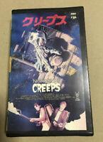 Night of the CREEPS VHS 1988 horror movie rare Scariest film slasher cult SOV