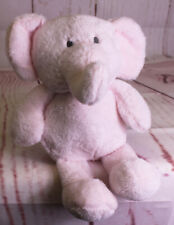 """NWT KELLY BABY TOY PINK Elephant Plush Lovey CUDDLE Rattle Crinkle Ears 12"""" NEW"""