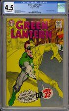 GREEN LANTERN #63 - CGC 4.5 - CLASSIC NEAL ADAMS COVER - 2061714013