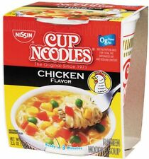 Nissin Cup Noodles Chicken Flavor 24-count