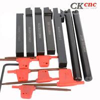 7PCS Set Of 12mm Lathe Turning Tool Holder Boring Bar CNC tools lathe cutting