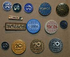 TOMOS Motorcycle Yugoslavia Factory vtg pin badge lot Anstecknadel