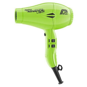 NEW, Parlux Advance Light Ceramic and Ionic Hair Dryer 2200W- Light Green