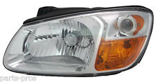 New Replacement Chrome Headlight LH / FOR 2007-2008 KIA SPECTRA LX & EX SEDAN