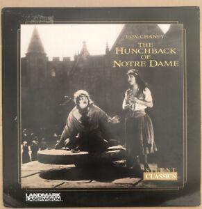 Hunchback Of Notre Dame Lon Chaney Laserdisc Silent Classics