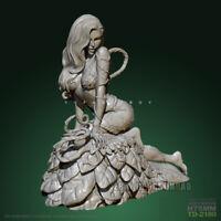 Unpainted 1/24 Enchantress Resin Female Figure Beauty Girl Model Kit Unassembled