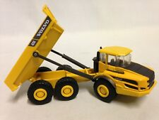 "Volvo A256 Construction Dump Truck  5.5"" Diecast With Plastic By new Ray Toy YL"