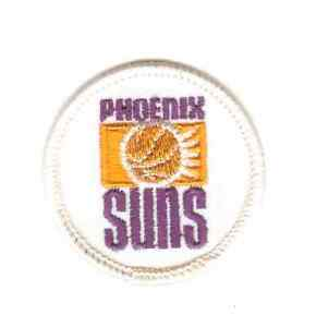 """PHOENIX SUNS 2"""" Embroidered Sew On Round Patch - Vintage~NBA"""