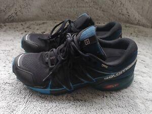 Salomon Goretex LT trail running shoes mens size UK 10, exc. condition.