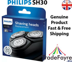 GENUINE PHILIPS SH30 Replacement Blades for Series 3000