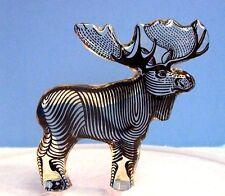 Abraham Palatnik Lucite Acrylic MOOSE Figurine Sculpture Kinetic Pal Brazil 395