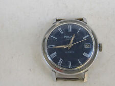RARE VINTAGE RUSSIAN USSR Wrist WATCH  POLJOT 23J cal.2616.2H Automatic 1986's