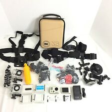 GoPro Hero 2 with LCD screen BacPac HD extra batteries and other accessories