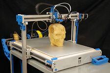Corso di stampa 3D: 6 DVD/produzione additiva/STAMPANTE/CAD/Makerbot/Reprap/GV