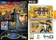Age of Empires 2 Gold & Empire Earth 2 Gold