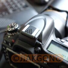 Metal Universal Hot Shoe Cover for Canon Nikon Pentax Fuji Camera Black