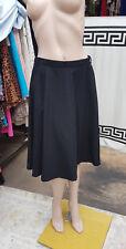Zara M Genial Negro Largo Medio Falda Con Elástico Cintura una condición de