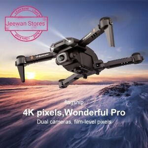 NEW MINI DRONE XT6 4K 1080P HD Camera WiFi Fpv Quadcopter RC Drone Kids Toy