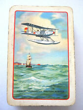 TORPEDO BOMBER VICKERS VILDERBEEST VINTAGE PLAYING CARDS 1930s EXTREMELY RARE