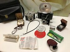 2 Alte Camera ZEISS IKON Nettar 515/2 Zeiss Ikon NOVAR anastigmat 1:6.3 f=105 mm