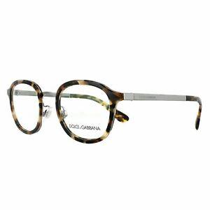 Dolce & Gabbana Eyeglasses Frames DG 1296 3141 Blue Havana 48mm Mens