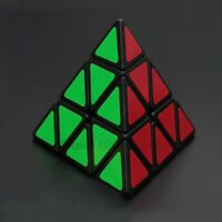New YJ Moyu Pyraminx Magic Cube Best Ever Pyramid Triangle Cube Black White
