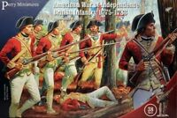 PERRY MINIATURES 28mm American War of Independence British Infantry 1775-1783