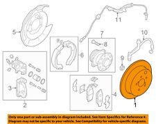 SUBARU OEM 12-15 Impreza Rear Brake-Rotor 26700FJ000