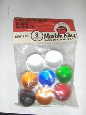 New old stock Marble King BOWLERS Puries MARBLES in Original  item 2586